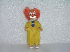 CUTE VINTAGE ARI CLOWN PLASTIC AND RUBBER DOLL TOY, MADE IN GERMANY, MARKED