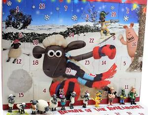 Shaun the Sheep Kids Advent Calendar Board Game Wallace & Gromit Christmas Gift