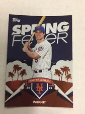 DAVID WRIGHT 2015 Topps Spring Fever SF-15 NEW YORK METS