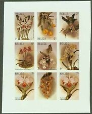 Belize 1987 Orchids 1c-7c COMPOSITE MASTER PROOF SHEET