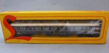 Train électrique Lima HO bogies - Wagon de voyageurs 1ère classe FS - Réf 9111