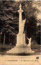 CPA St-Affrique - Le Monument aux Morts (474895)