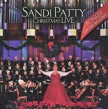 SANDI PATTY - Sandi Patty Christmas Live - CD/DVD ** Brand New **