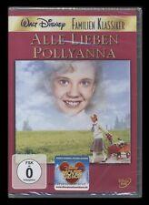 DVD WALT DISNEY - ALLE LIEBEN POLLYANNA - HAYLEY MILLS - FAMILIEN-KLASSIKER *NEU