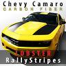 Chevy Camaro CF LOBSTER Carbon Fiber Rally Stripes 2010 2011 2012 2013 Decal Set