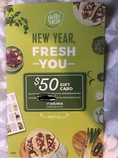 HelloFresh $50 Gift Card