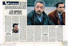 Coupure de presse Clipping 1984 (2 pages) Les Ripoux