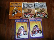 Lot 5 copies MOUSE & the MOTORCYCLE Cleary GUIDED READING Lit Circle