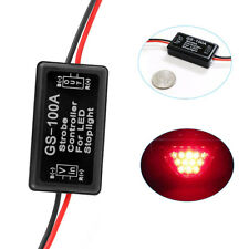 12V GS-100A Car Flash Strobe Controller Box Module for LED Brake Tail Stop Light