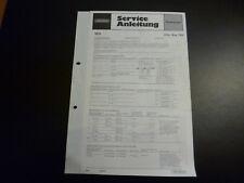 Original Service Manual Grundig City Boy 700