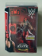 WWE Ringside Collectibles Exclusive NWO STING Elite Figure Signed / Autograph