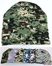 Bulk lot of 144 Assorted Digital Camo Camouflage Winter Knit Beanie Hats
