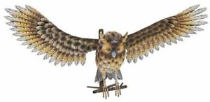 *NEW Wall Mounted Great Look Metal Owl With Wings Open 72cm