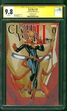 Civil War II 0 CGC SS 9.8 Captain Marvel Color Variant 2019 Avengers 4 Movie