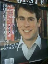 Majesty Magazine V5 #12 Edward At 21, Anne Joins The Army, Diana Goes Back To Wo