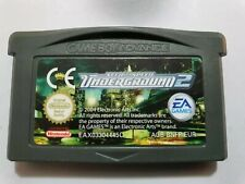 NEED FOR SPEED Underground 2 Game boy Advance pal EUR solo cartucho , ORIGINAL!