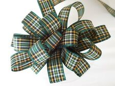 Berisfords R7622 * /17 | Irish National Woven Tartan Ribbon More Than 24 Mm 25mm X 25m