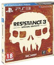 RESISTANCE 3 PER SONY PS3 SPECIAL EDITION NUOVO UFFICIALE ITALIANO