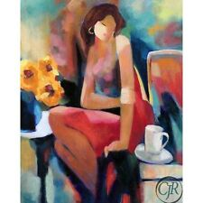 """Yunessi S/N Giclee on Canvas """"Lady"""""""