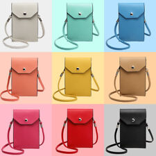 Small Universal Cross Body Bag Pouch Phone Vertical Handbag Slots Wallet Case