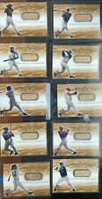 2000 Upper Deck Piece of The Game - Used Bat Lot of 10 Cards