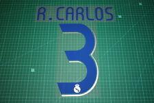 Real Madrid 06/07 #3 R. CARLOS Homekit Nameset Printing