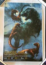 JURASSIC PARK Variant by Karl Fitzgerald Screen Print Poster #40/100 (not Mondo)