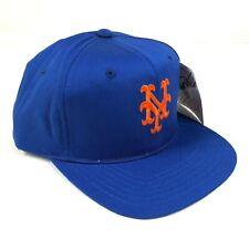 Vintage New York Mets Snapback Hat Cap Youth Size Blue Orange NY Logo New Era