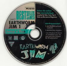 Earthworm Jim 1,2 - CD de bestsellergamens