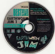 Earthworm Jim 1,2 CD de bestsellergamens