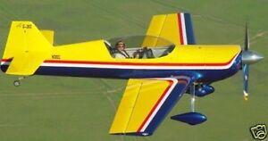 Giles 202 G-202 Yellow Wood Model Airplane BIG