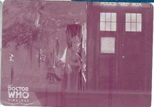 2016 Doctor Who Timeless Magenta Printing Plate 45 The Christmas Invasion 1/1