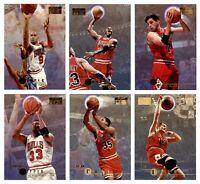 🔥🏀1996-97 Skybox Premium #16 Michael Jordan Chicago Bulls Lot of 6 cards HOT!