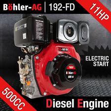 BOHLER-AG 11HP PORTABLE DIESEL ENGINE SINGLE CYLINDER ~ YANMAR LOMBARDINI LONCIN