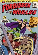 Forbidden Worlds #125 - 1st App Of Magicman - 1965 (6.5/7.0) WH
