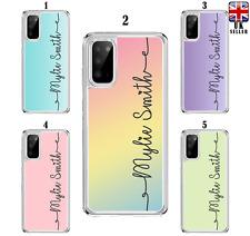 Estuche Para Pastel Personalizado Samsung Galaxy S10 Lite S20 A10 A40 A41 A51 A21s