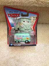 DISNEY PIXAR CARS 2 RACE TEAM FILLMORE #14 1:55 diecast