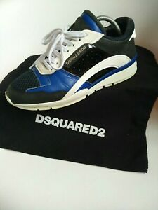 Dsquared 2 mens Trainers Size 8 Sneakers designer shoes eu 42