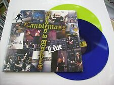 CANDLEMASS - ASHES TO ASHES - 2LP YELLOW AND BLUE VINYL NEW SEALED 2010