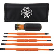 Klein Tool 8 In 1 Insulated Interchangeable Screwdriver Set