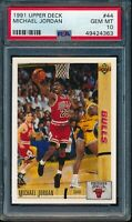 PSA 10 MICHAEL JORDAN 1991-92 Upper Deck Chicago Bulls HOF GOAT RARE GEM MINT