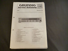 ORIGINALI service manual Grundig R 30