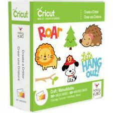 *New* CREATE A CRITTER Child Animal Phrase Cricut Cartridge Unopened Free Ship
