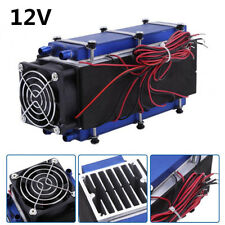 12V 576W 8-Chip DIY Thermoelectric Peltier Cooler Air Cooling Device For Car SUV