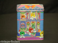 Vntage M&M's Bed & Breakfast Advertising Ad 1995 Litho Tin Can Storage Container
