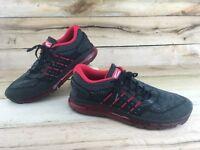 Onemix Men's Size 12 US 46 EUR 11 UK Running Shoes Black Red OM164401-004M