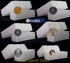 20 CoinSafe Square Coin Storage Tubes - Twenty Assorted - You Pick - USA Made!