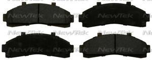 Disc Brake Pad Set Front NewTek SMD652H