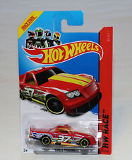 2014 Hot Wheels HW Race #156 Circle Trucker Red New