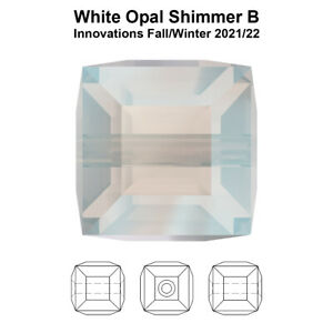 Genuine SWAROVSKI 5601 Cube Crystal Beads * Many Sizes & Colors